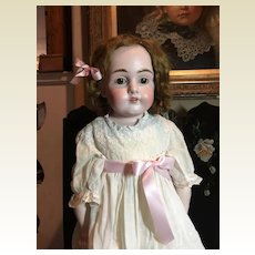 "Gorgeous 27"" Kestner Bisque Doll"