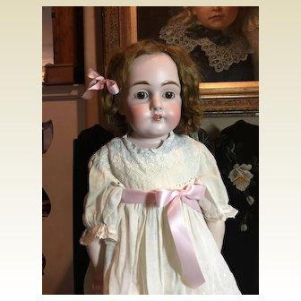 """Gorgeous 27"""" Kestner Bisque Doll"""