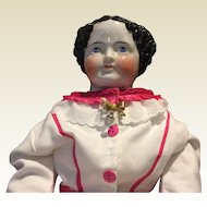 "Huge 32"" Antique China Head Doll"