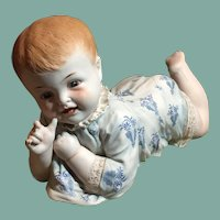 Large Hertwig Antique Baby Figurine