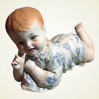 Large Hertwig Antique Baby Figurine