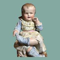 Large Rare Hertwig Baby Figurine
