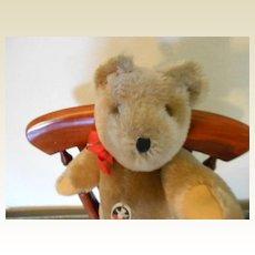 """12"""" Swiss made Teddy Bear By Felpa Zurich,"""" Mutzli"""""""