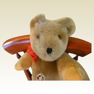 "12"" Swiss made Teddy Bear By Felpa Zurich,"" Mutzli"""
