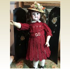 "Beautiful 21"" Schoenau/Hoffmeister Doll"