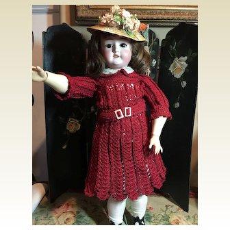 "Beautiful 21"" Schoenau/Hoffmeister Doll"
