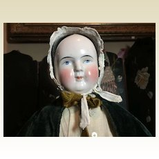"23"" Tall Antique Kestner China Head Doll"