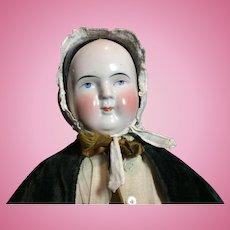 """23"""" Tall Antique Kestner China Head Doll"""