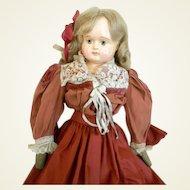 Antique Sonneberg Paper Mache Doll
