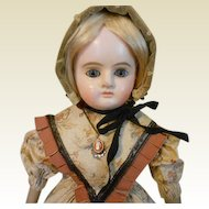 "Sweet 18"" Antique Paper Mache Doll"