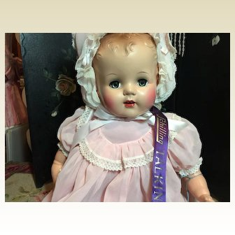 """23"""" Tall Mint Schilling Talking Doll with Tags!!!"""