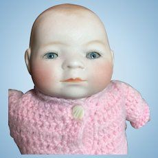 """Tiny Bye-Lo Bisque Head Baby-8""""Circumference -On Sale!"""
