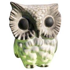 """Howard Pierce Porcelain Great Horned Owl 5"""""""