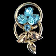 CORO Flower Pin