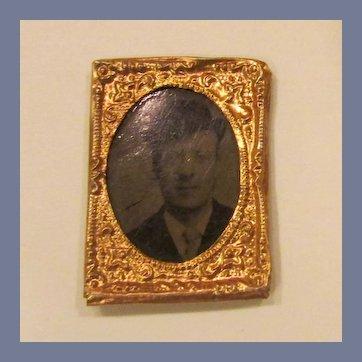 Framed Gem Tintype, 1860's