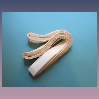 50 Yards Vintage Silk Faille Ribbon, 1930's