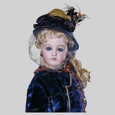 """Gorgeous 23"""" Portrait Fashion Poupee  by Jumeau"""