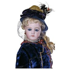 "Gorgeous 23"" Portrait Fashion Poupee  by Jumeau"