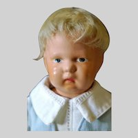 "13"" Classic 108W Schoenhut Child Orig Paint Orig Stand"
