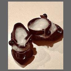 Tiniest Antique Bébé Shoes