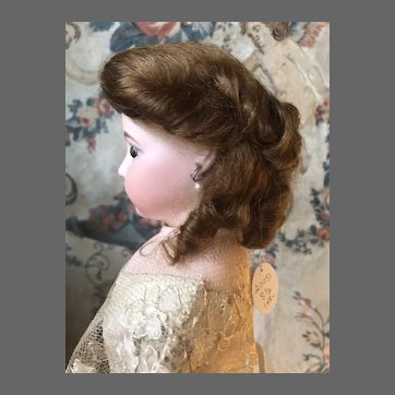 Charming Mohair Wig for Fashion Doll