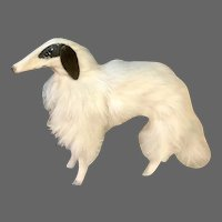 Darling Borzoi Dog for Petite Fashions