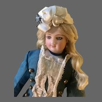 "New Pics!  12"" Wood Body Bru Poupée as Empress Eugenie"