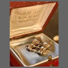 Gilded Miniature Opera Glasses