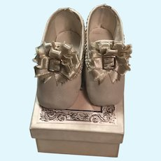 Divine Soft Leather Heels for Poupée