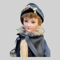 1469 Flapper Doll by Cuno, Otto, Dressel