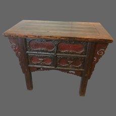Chinese 19th Century  Altar Table