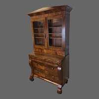American Empire Secretary Desk