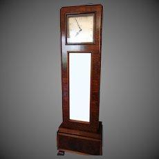 Gustav Becker Art Deco Longcase Clock