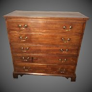 Queen Anne  Cherry Blanket Chest