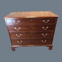 Chippendale Mahogany Chest
