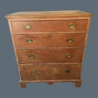 Chippendale Grain Painted Chest