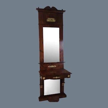 Swedish Empire Pier Mirror