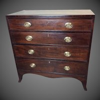 Mahogany Hepplewhite Chest
