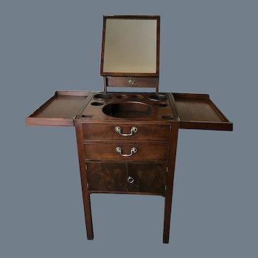 Beau Brummell Mahogany Gentleman's Wash Stand
