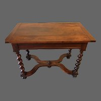 Louis XIV Walnut Side Table
