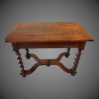Louis XIV Walnut Side Table