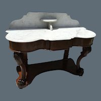 French Marble Washstand