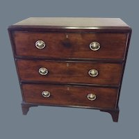 George III Mahogany Butlers Chest