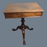 George 111 Mahogany Writing Table