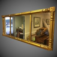 Federal Style Gilt Over Mantle Mirror