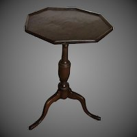 New England Octagon Tripod Candle Stand