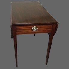 18thc Mahogany Pembroke Table