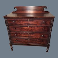 Federal Mahogany Chest