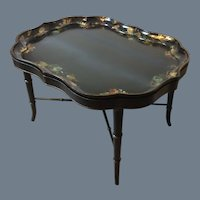 B. Walton & Company Paper Mache Tray with Stand