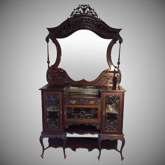 Outstanding Victorian Renaissance Revival Etagere